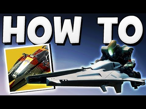 Destiny 2 – HOW TO GET A SPARROW !!