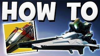 Destiny 2 - HOW TO GET A SPARROW !!