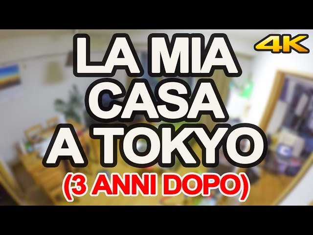 LA MIA CASA A TOKYO (3 ANNI DOPO)