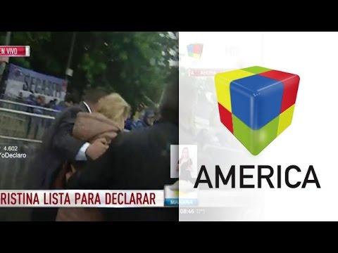 Una periodista denunció que fue agredida en la marcha en apoyo a Cristina Kirchner