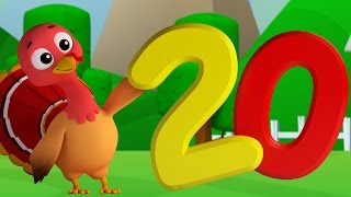 Numbers Song | Learn Numbers With Farmees | 1-20 | Songs For Baby And Childrens by Farmees