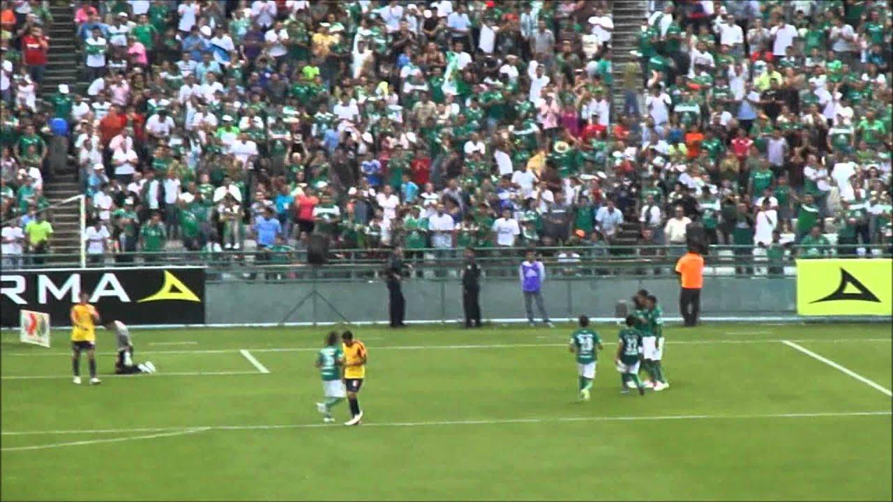 León Vs Morelia J05 Copa Mx A 2012 Gol Othoniel Arce 1 0