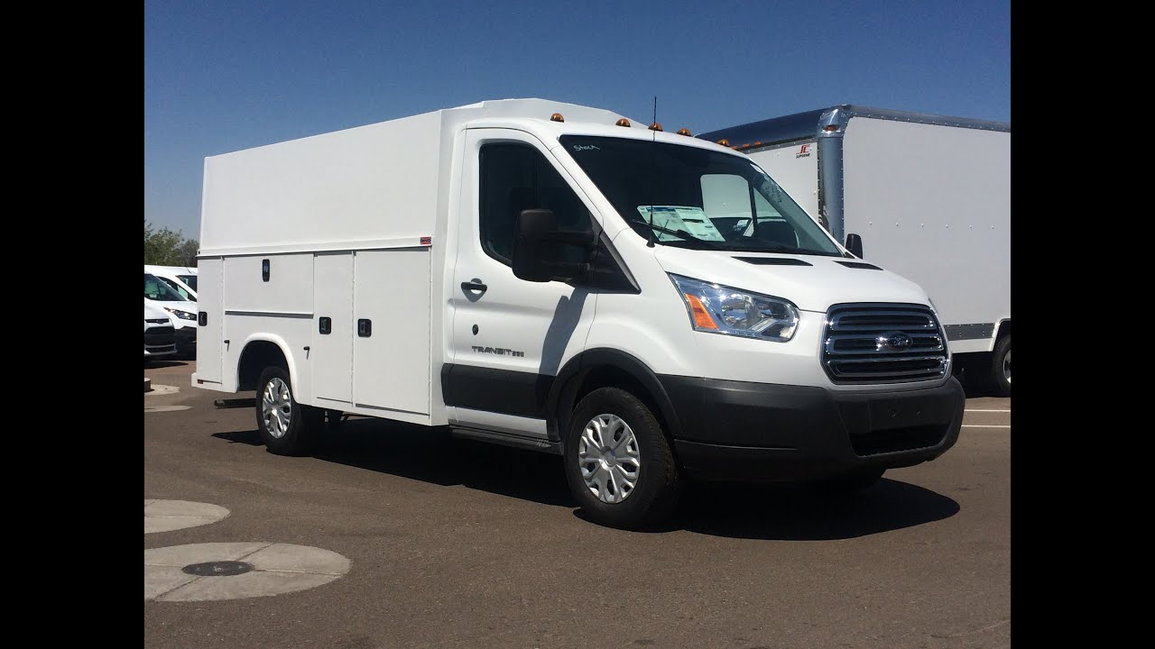 2015 Ford Transit T250 Knapheide Kuv Low Roof Walkaround
