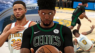 ELI vs CURRY INTENSE BATTLE! Curry Broke My Ankles & Scored 50+ Points! NBA 2K20 Eli Harris #4