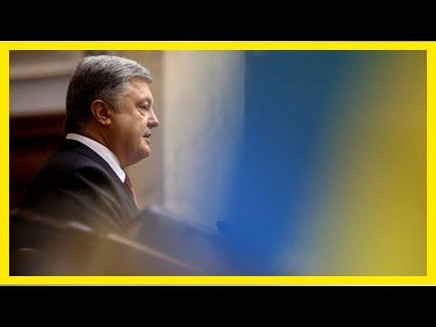 GREAT US - NEWS - Poroshenko said the switch plate on Ukraine tv, radio