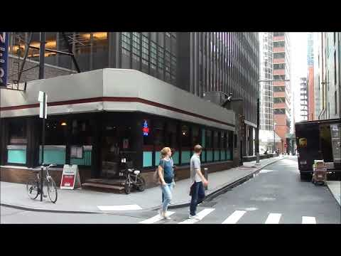 A Visit to the Pearl Diner in New York City-a Kullman Dining Car