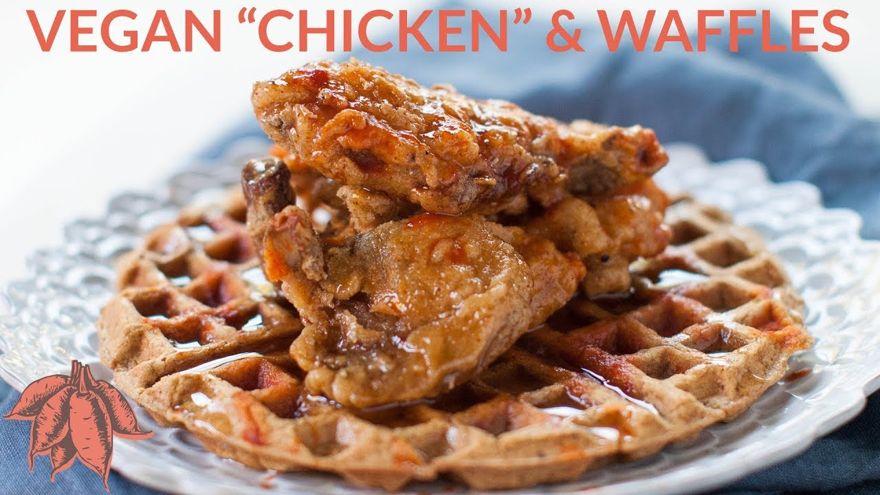 Vegan Chicken and Waffles   Vegan Soul Food