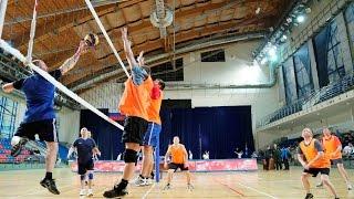 Соревнования по волейболу. Спартакиада ЦОВУ 16.02 - 20.02.2015, Москва