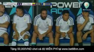 Highlight Argentina 3-0 Colombia (16.11.2016)