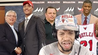 hmmm d rose or jimmy b the best draft pick every nba team made reaction