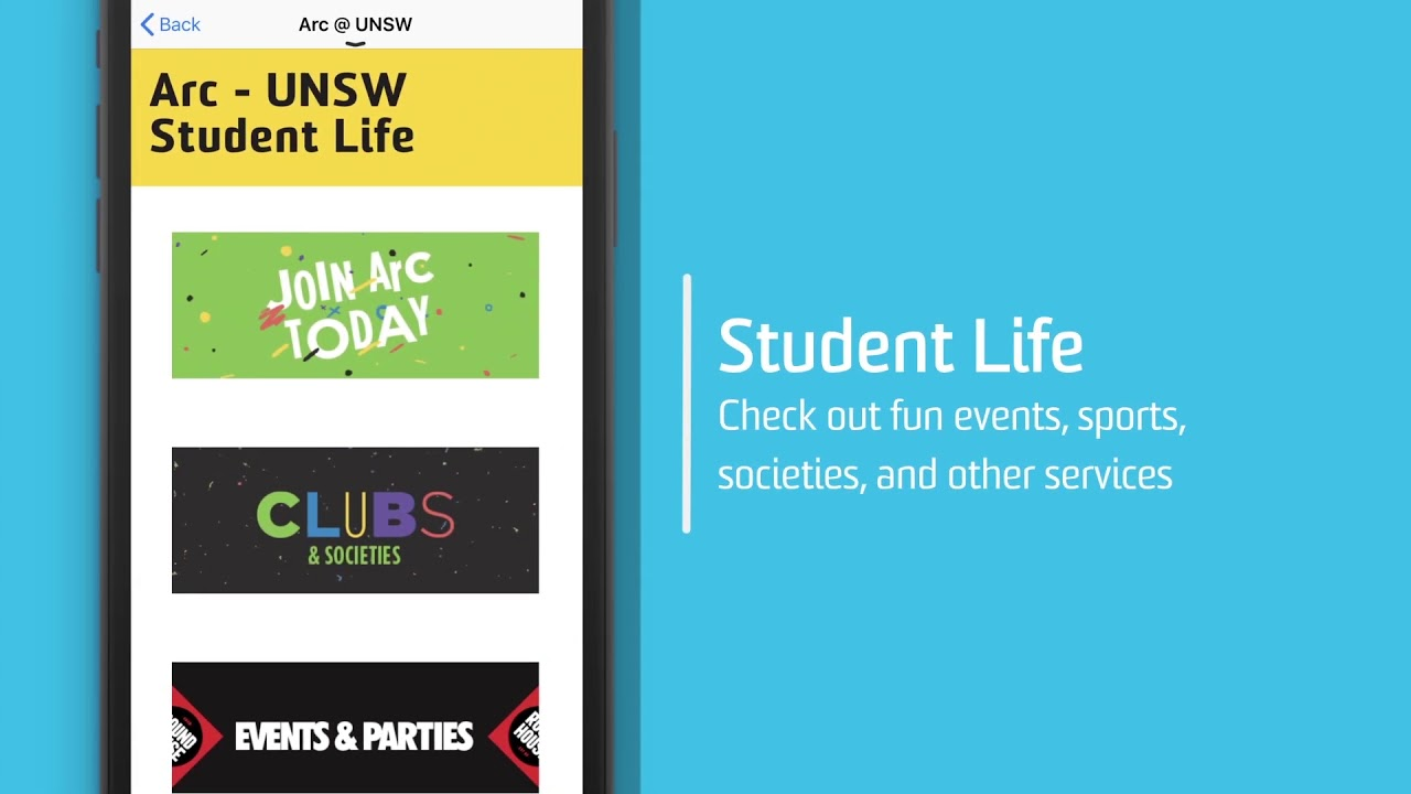 Uni Verse Unsw S Official Mobile App Unsw Current Students
