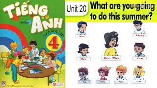 Tiếng Anh Lớp 4: Unit 20 WHAT ARE YOU GOING TO DO THIS SUMMER - Review