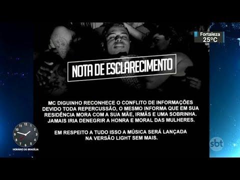 Funk acusado de apologia ao estupro é banido de plataforma de música   SBT Notícias (18/01/18)