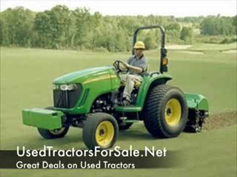 Used tractors for sale john deere and garden tractors for Garden machinery for sale