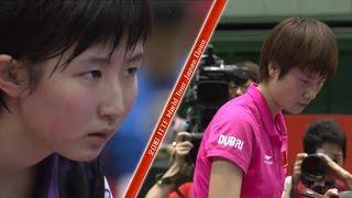 【ジャパンOP2016】女子シングルス準々決勝 早田ひなvs丁寧(中国)