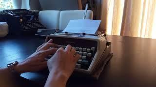 Olympia SM7 typewriter 1960's