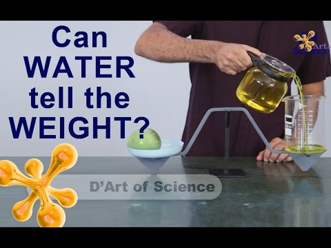 How to Make a Weighing Scale that uses WATER - dArtofScience