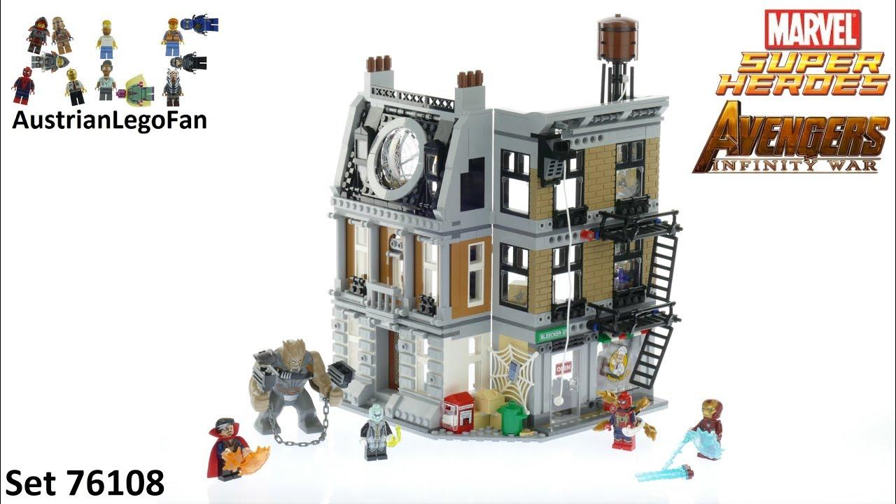 Lego Super Heroes 76108 Sanctum Sanctorum Showdown Avengers