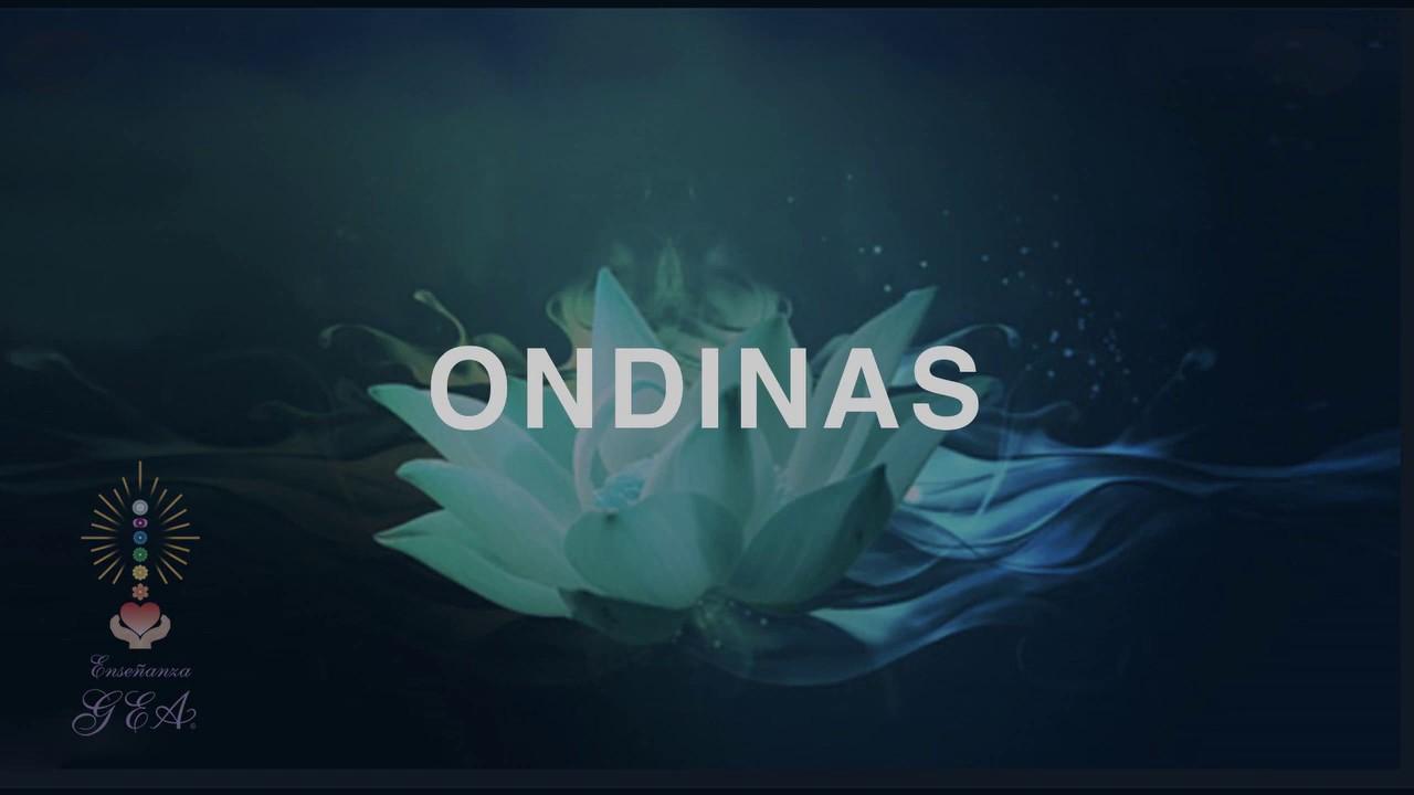 Meditación por los Seres Elementales, Las Ondinas.