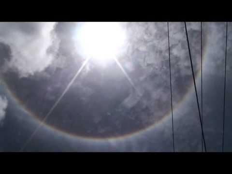 Halo Around The Sun (Trinidad) 4.5.2011