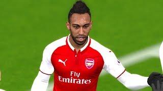 Arsenal vs Crystal Palace (Aubameyang & Mkhitaryan Scored a Goal) 20 January 2018 Gameplay