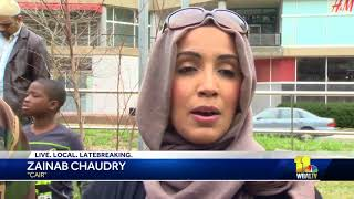 Muslims march for justice in Baltimore