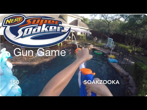 Nerf Gun Game: Super Soaker Edition (1000 Subscriber Special)