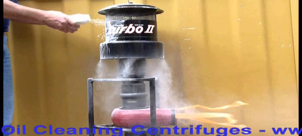 Turbo Ii Precleaner Dust Extraction Demonstration 1 Youtube