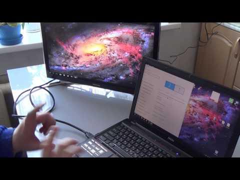 Как подключить второй монитор к ноутбуку через hdmi