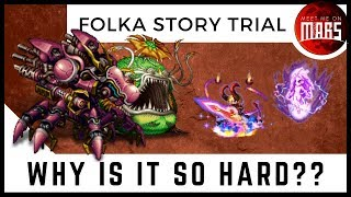 Folka Story Event Trial Challenge   MOST ANNOYING FIGHT EVER   FFBE