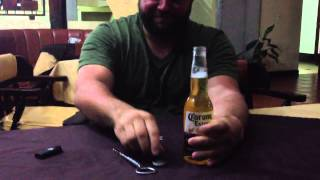 How to drink a Corona beer in 2 seconds