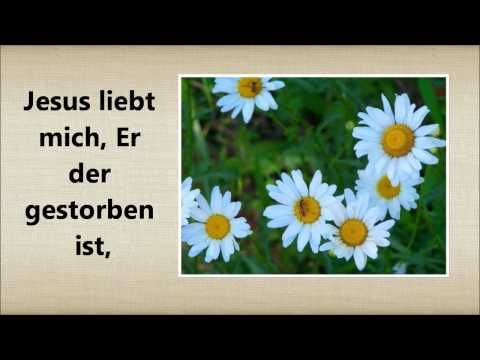 Jesus loves me song in german