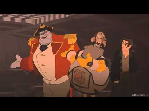 Treasure Planet  Jim Meets Silver & Morph BluRay