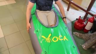 видео Купить Байдарка надувная Тайга 280 по цене 12 200 руб. в интернет магазине Интернет-Магазин Мир Водного Туризма