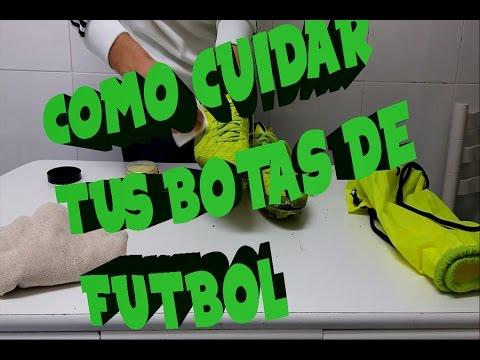 Cómo limpiar de caucho tus botas de fútbol Fútbol Emotion