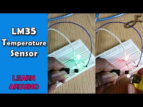 LM35 With Arduino   Temperature Sensor   SdevElectronics