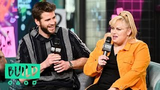 """Isn't It Romantic"" Co-Stars Rebel Wilson & Liam Hemsworth Joke About Love Scene Awkwardness"