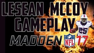 TOTW LeSean McCoy 90 Overall Gameplay!!! - Madden Ultimate Team 17