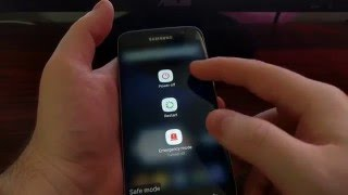 how to boot the galaxy s7 into safe mode