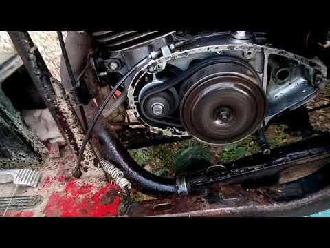 Муравей работа двигателя без крышки сцепления