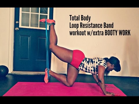 Mini Band Inner Thigh and Booty (Loop Resistance)