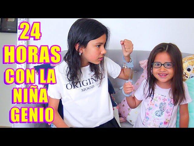 24 HORAS CON LA NIÑA GENIO | TV Ana Emilia