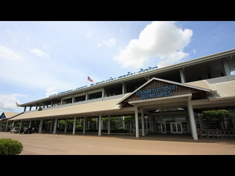VISIT LAOS PDR | Vientiane Airport (Wattay) Laos with Laos song