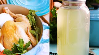 How To Make An Easy Poached Chicken And Chicken Stock