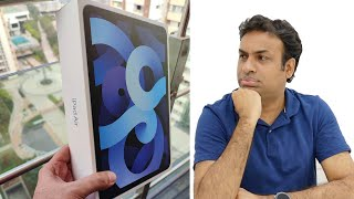 iPad Air 4th Gen Unboxing & Impressions with Indian Retail Unit