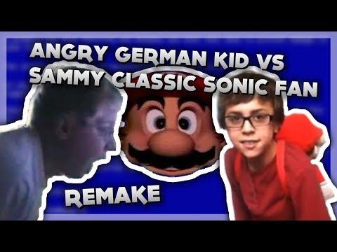YTP - Angry German Kid vs Sammy Classic Sonic Fan (REMAKE)