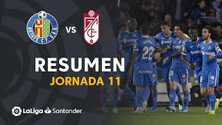 Resumen de Getafe CF vs Granada CF (3-1)