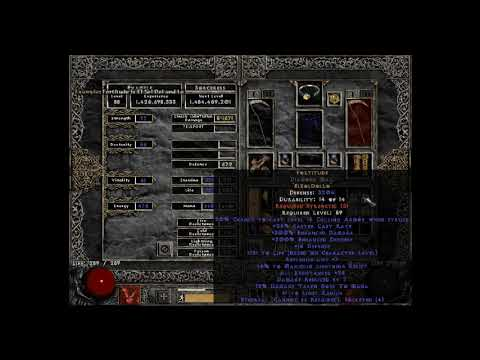 Crafting ANOTHER ebug Fortitude - Diablo 2