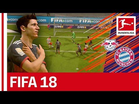Leipzig vs Bayern - FIFA 18 Prediction with EA Sports