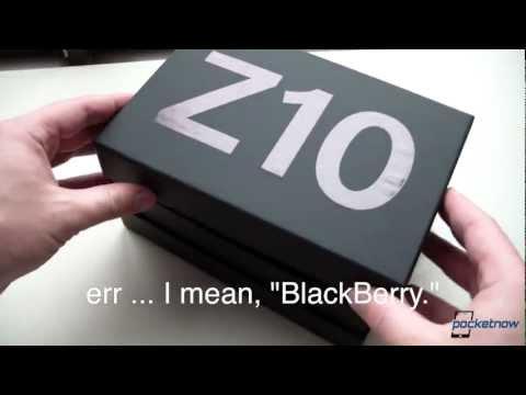 BlackBerry Z10 Unboxing & Hardware Tour